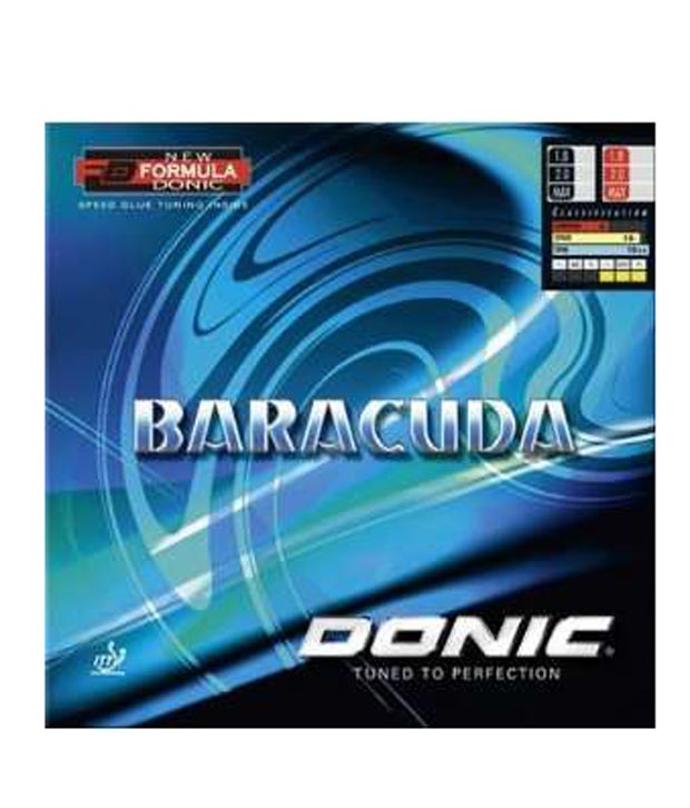 Donic BarracudaTable Tennis Rubber Black
