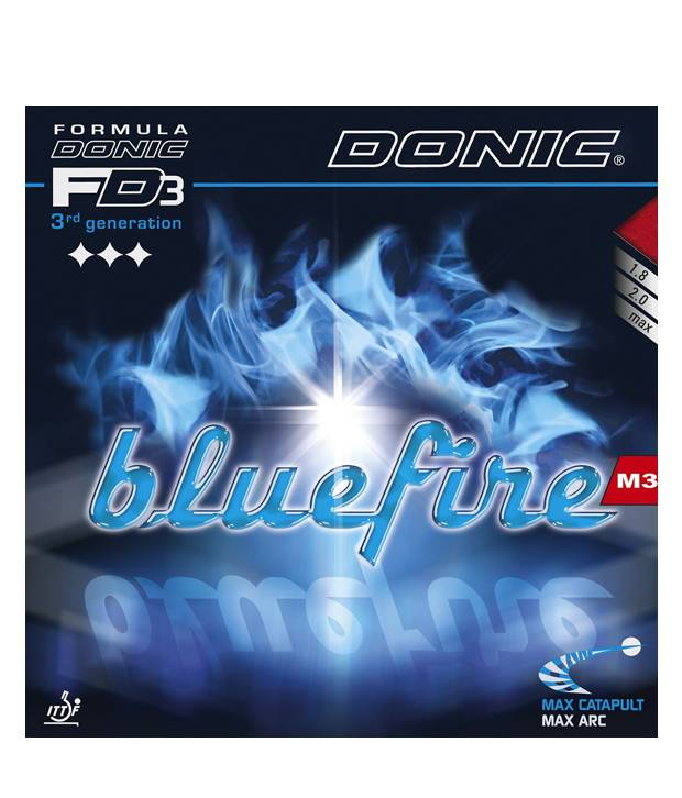 Donic Blue Fire M3 Table Tennis Rubber Black
