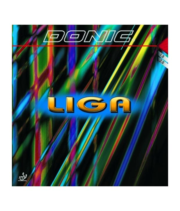 Donic Liga Table Tennis Rubber Black