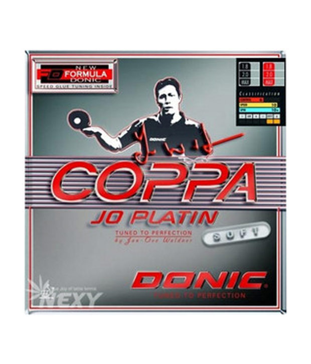 Donic Coppa Jo PlatinTable Tennis Rubber Black