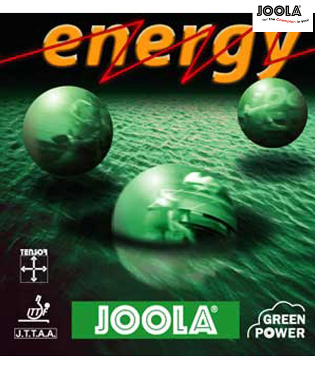 JOOLA ENERGY RUBBER BLACK