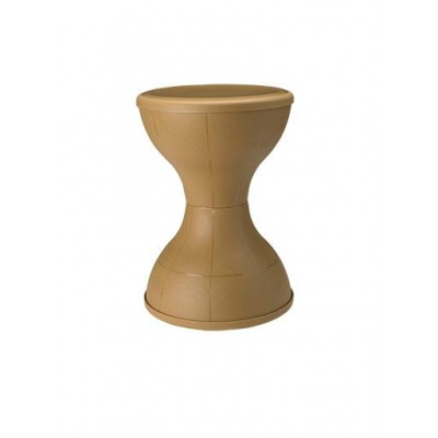 NILKAMAL STOOL STL 12 SANDY BROWN