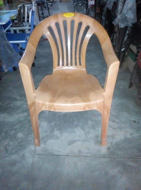 RICHFEEL PLASTIC CHAIR GOLD