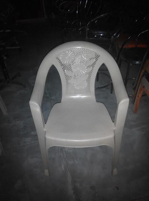RICHFEEL PLASTIC CHAIR SUNFLOWER