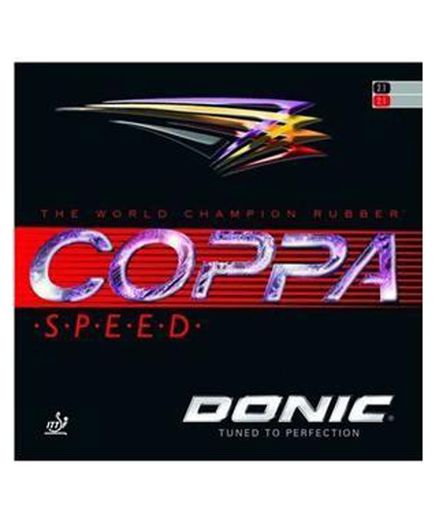 Donic Coppa SpeedTable Tennis Rubber Black